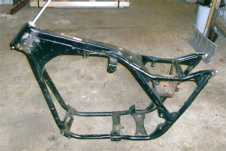 painting motorcycle frame frame - Motorcycle Frame Paint